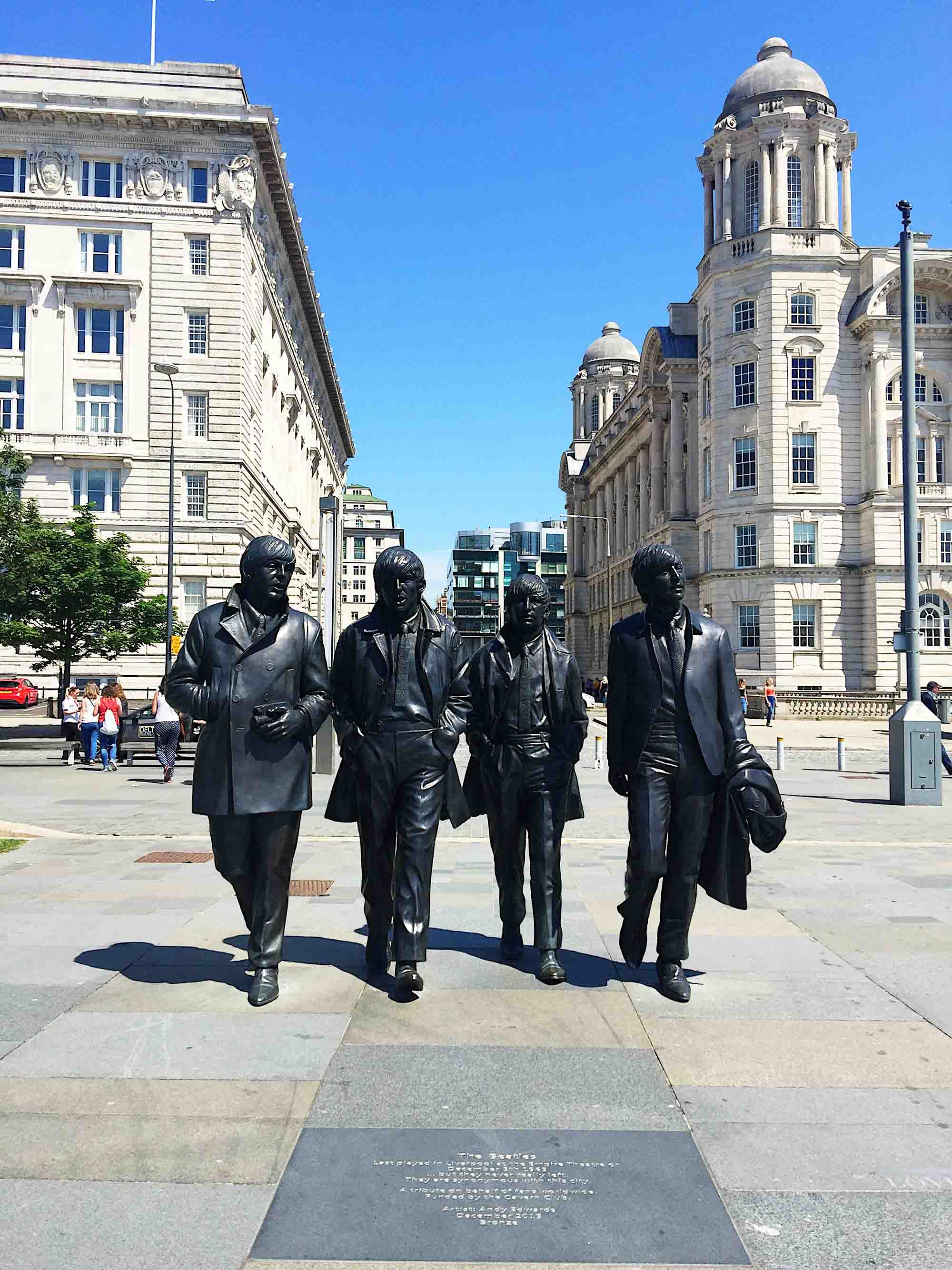 Best things to do in Liverpool - Beatles Statue