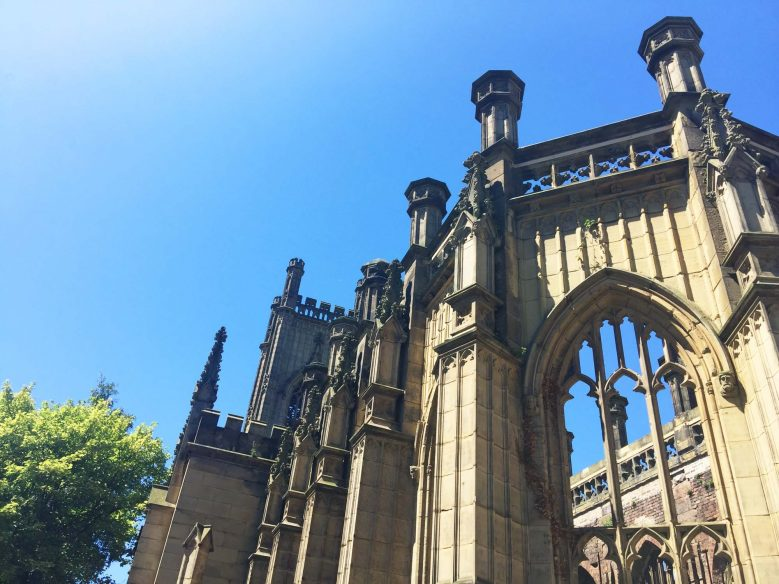 Best things to do in Liverpool - Bold Street - Bombed Out Church