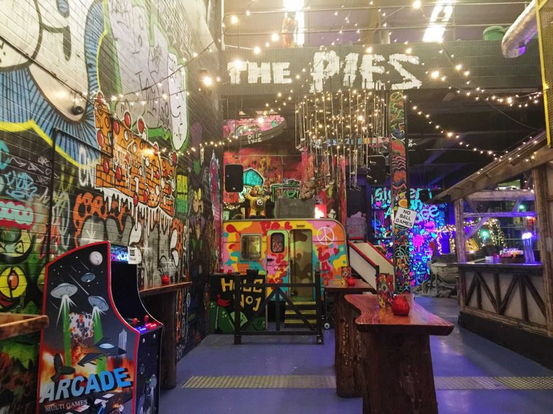 Best things to do in Liverpool - Baltic Triangle - Ghetto Golf