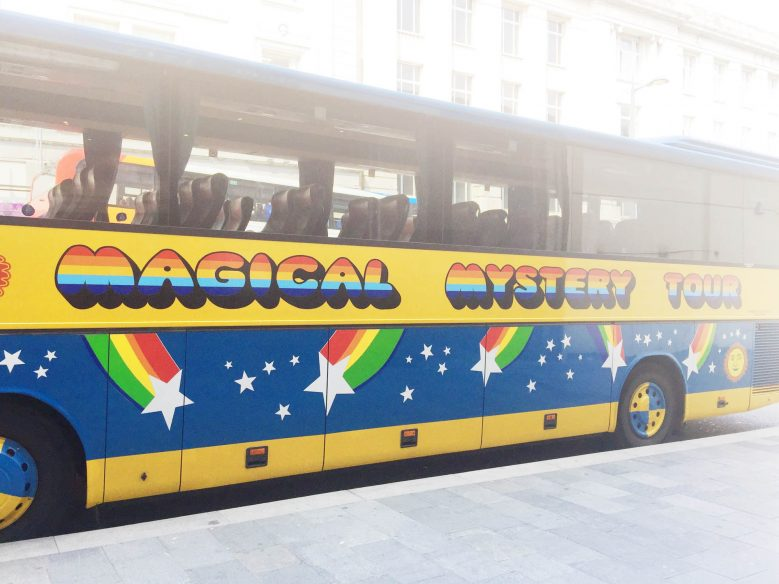Best things to do in Liverpool - Magical Mystery Tour