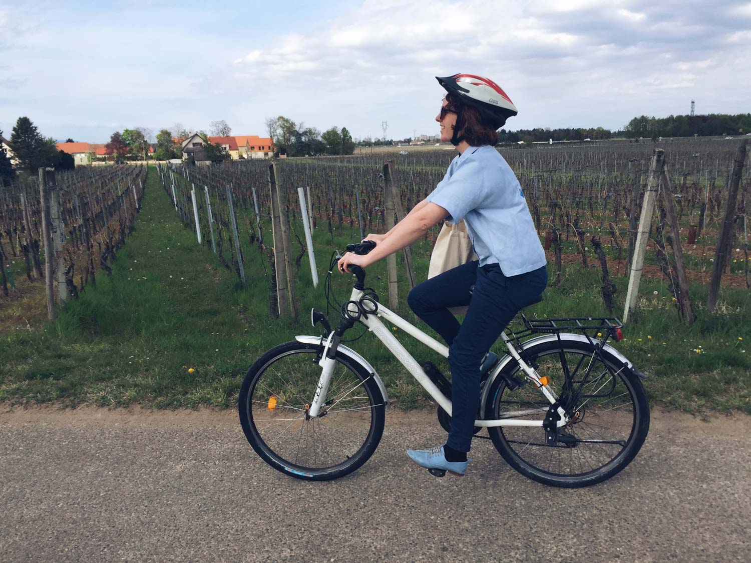 Cycling Colmar to Equisheim, France – Real-life fairytale village