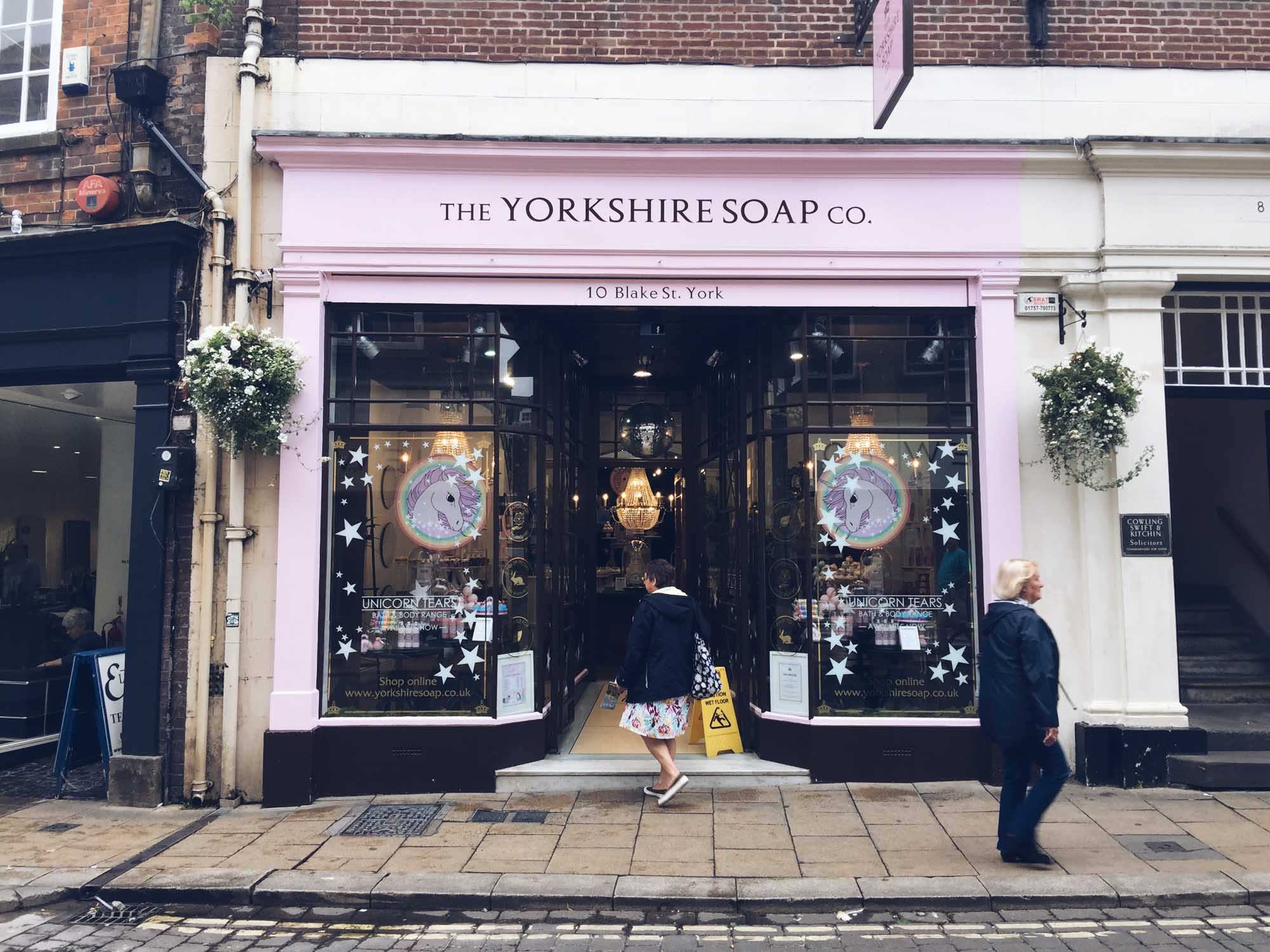 Best things to do in York - Yorkshire Soap Company