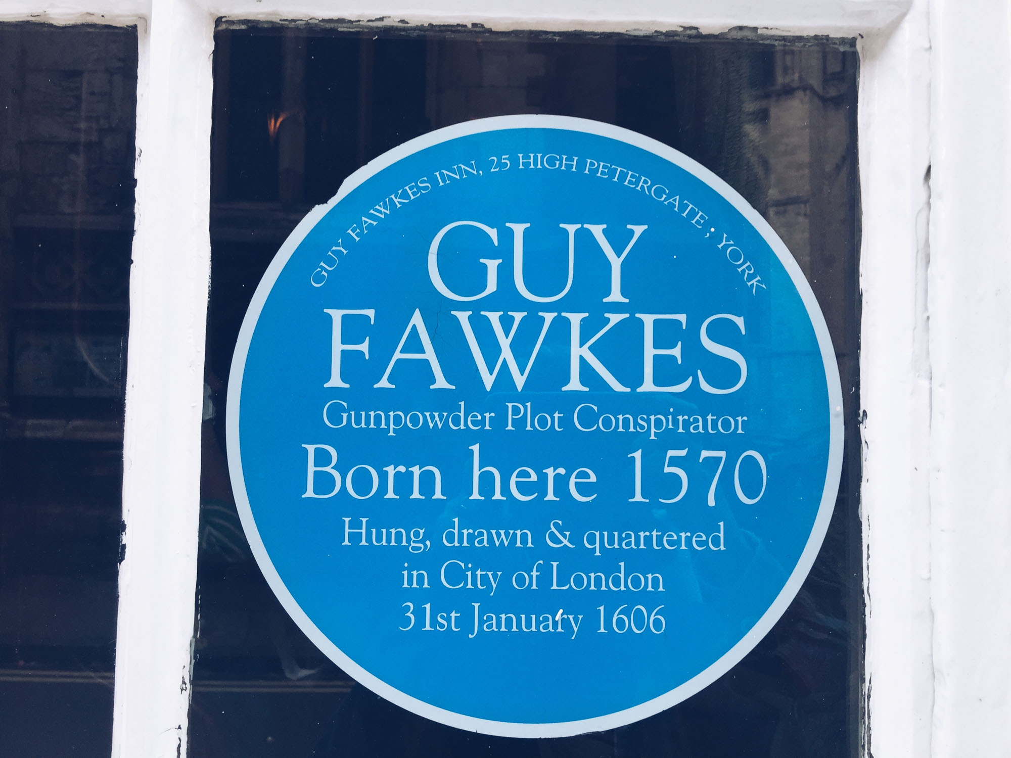 Best things to do in York - 365 pubs - Guy Fawkes Inn