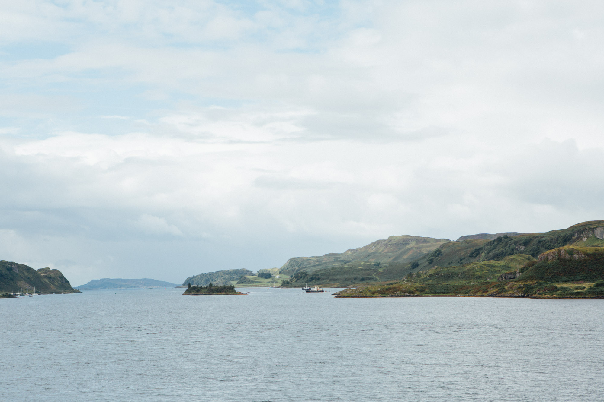 A weekend in Isle of Mull and Oban and Ardlui: Ferry to Oban
