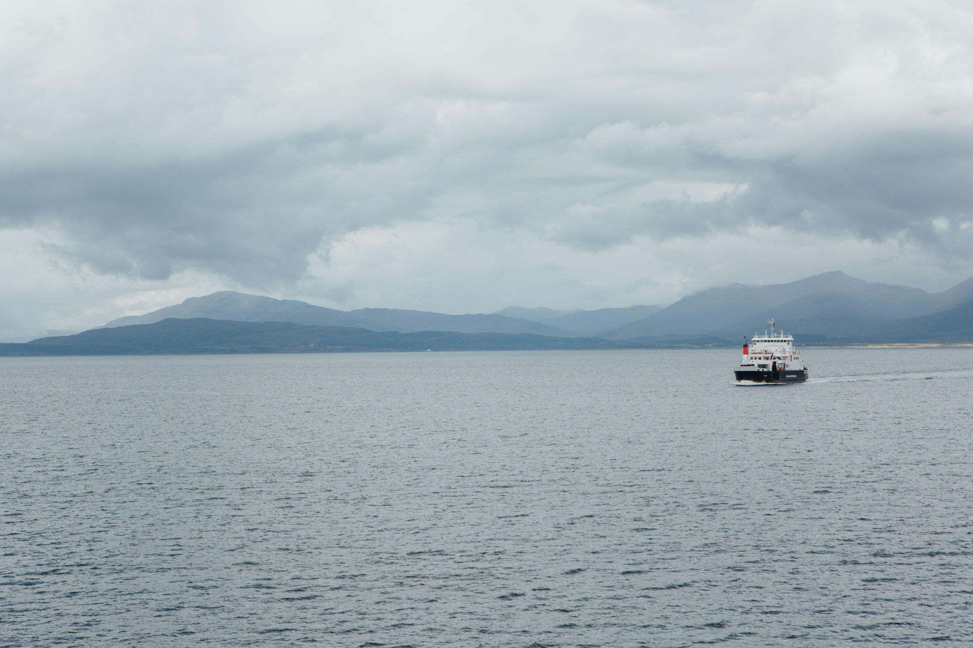 A weekend in Isle of Mull and Oban and Ardlui: Ferry Oban to Criagnure