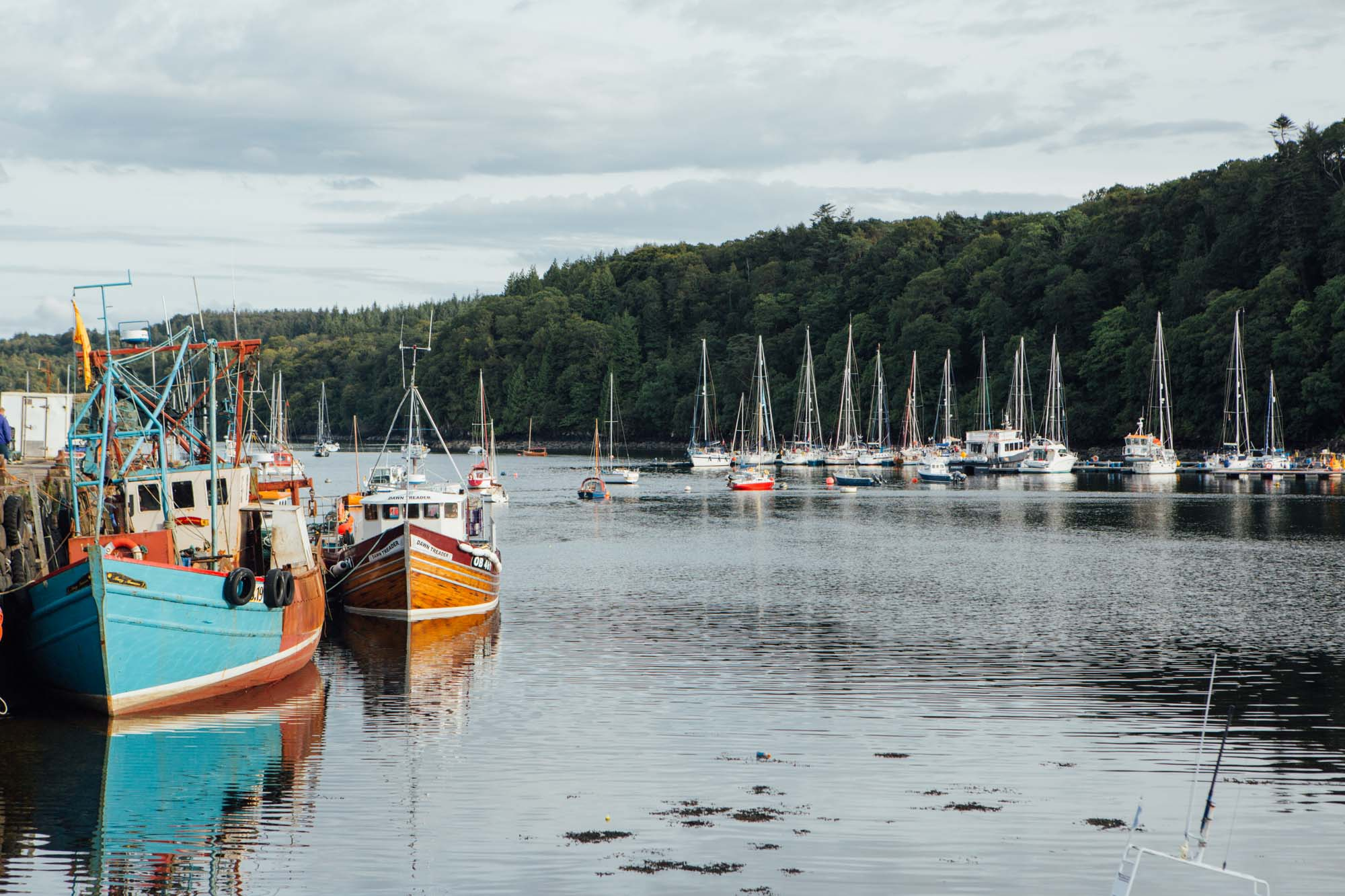 A weekend in Isle of Mull and Oban and Ardlui: Tobermory