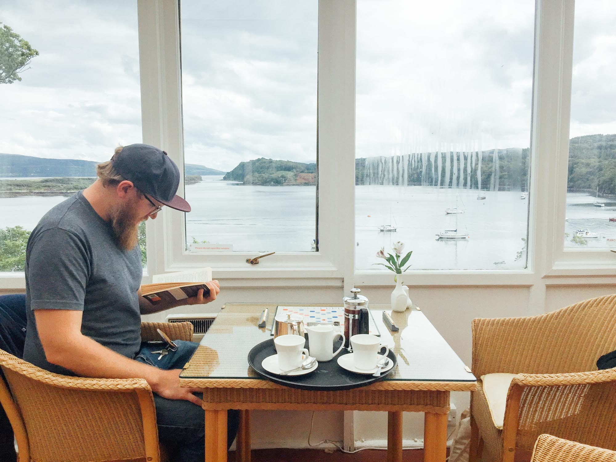 A weekend in Isle of Mull and Oban and Ardlui: Western Isles Hotel