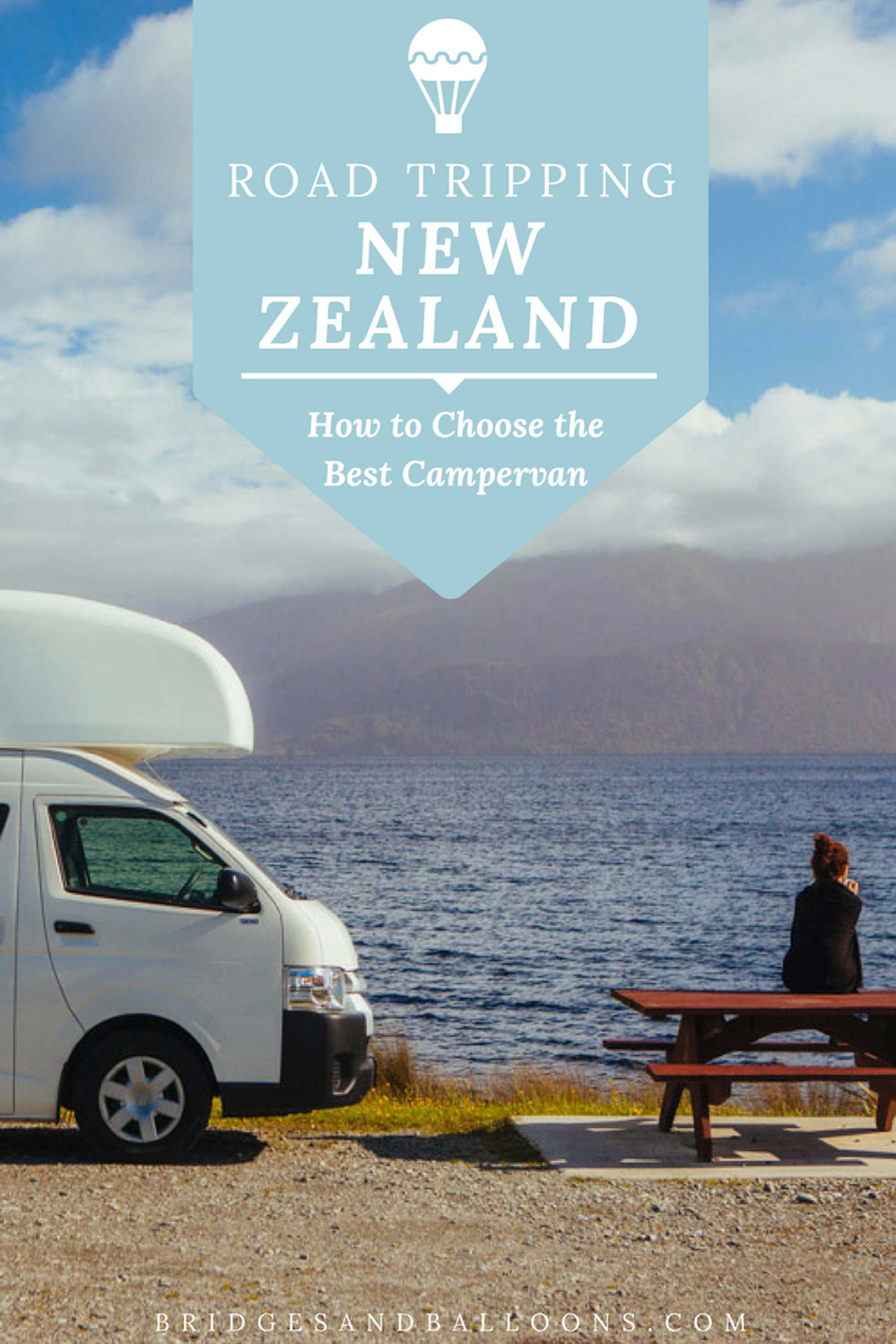 How to choose a campervan in New Zealand