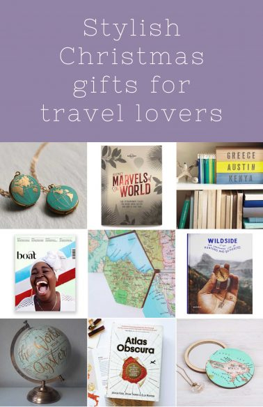 Stylish gift ideas for travel lovers