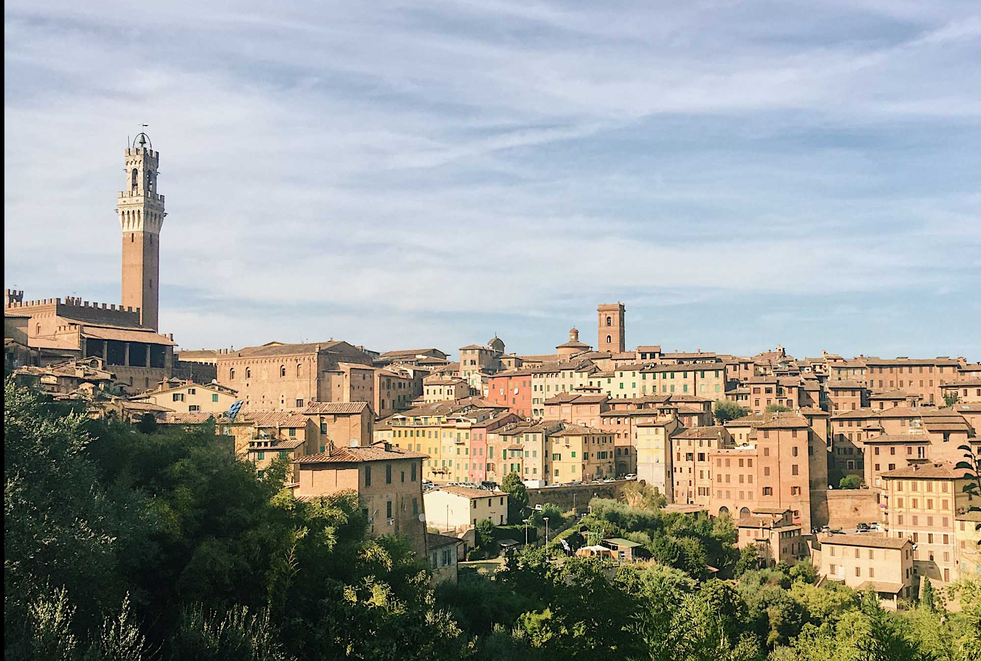 Road trip in Italy itinerary - Siena
