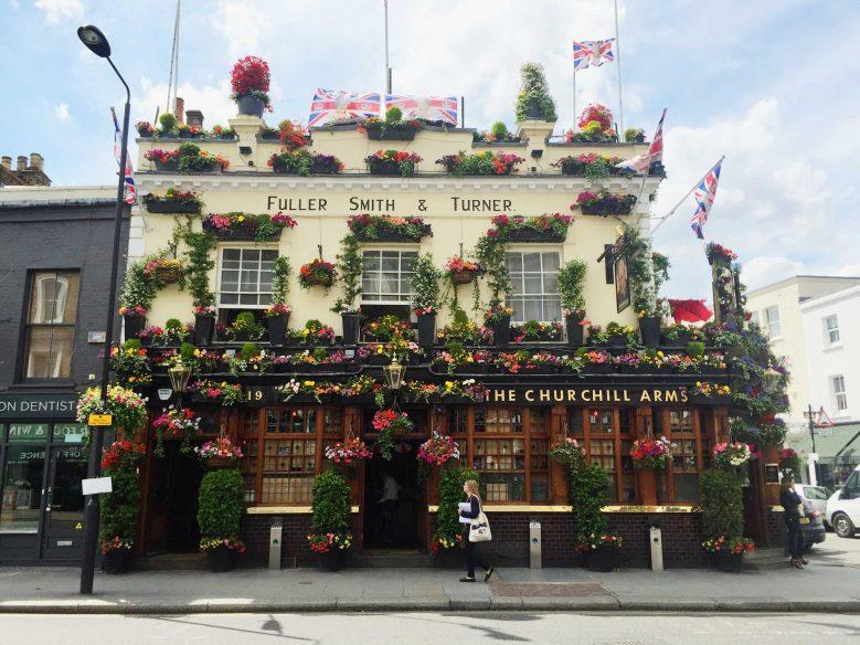 Churchill Arms Flower Pub London