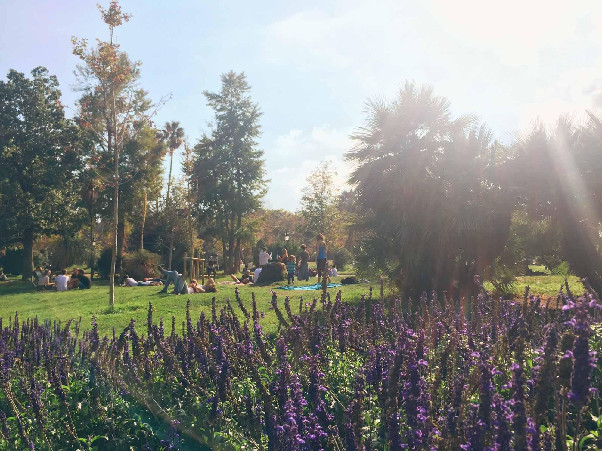 Ciutadella Park - Babymoon in Barcelona