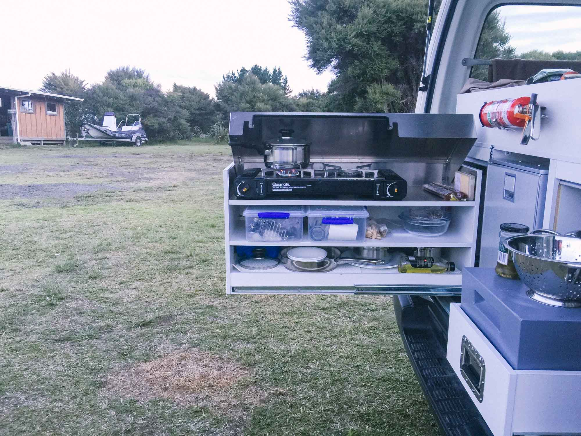 How to choose a campervan in New Zealand - Britz ActionPod