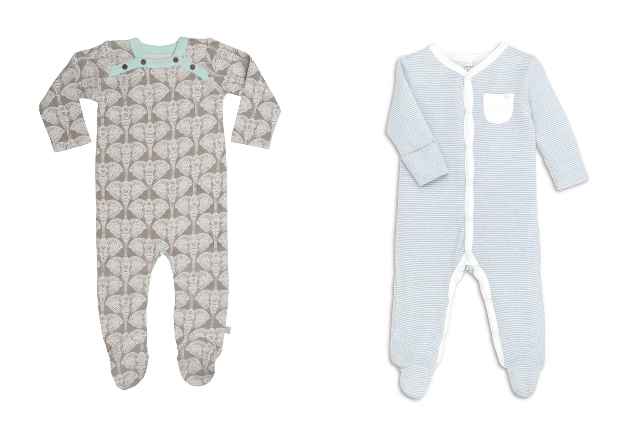 Natural Baby Shower - Sleepsuits