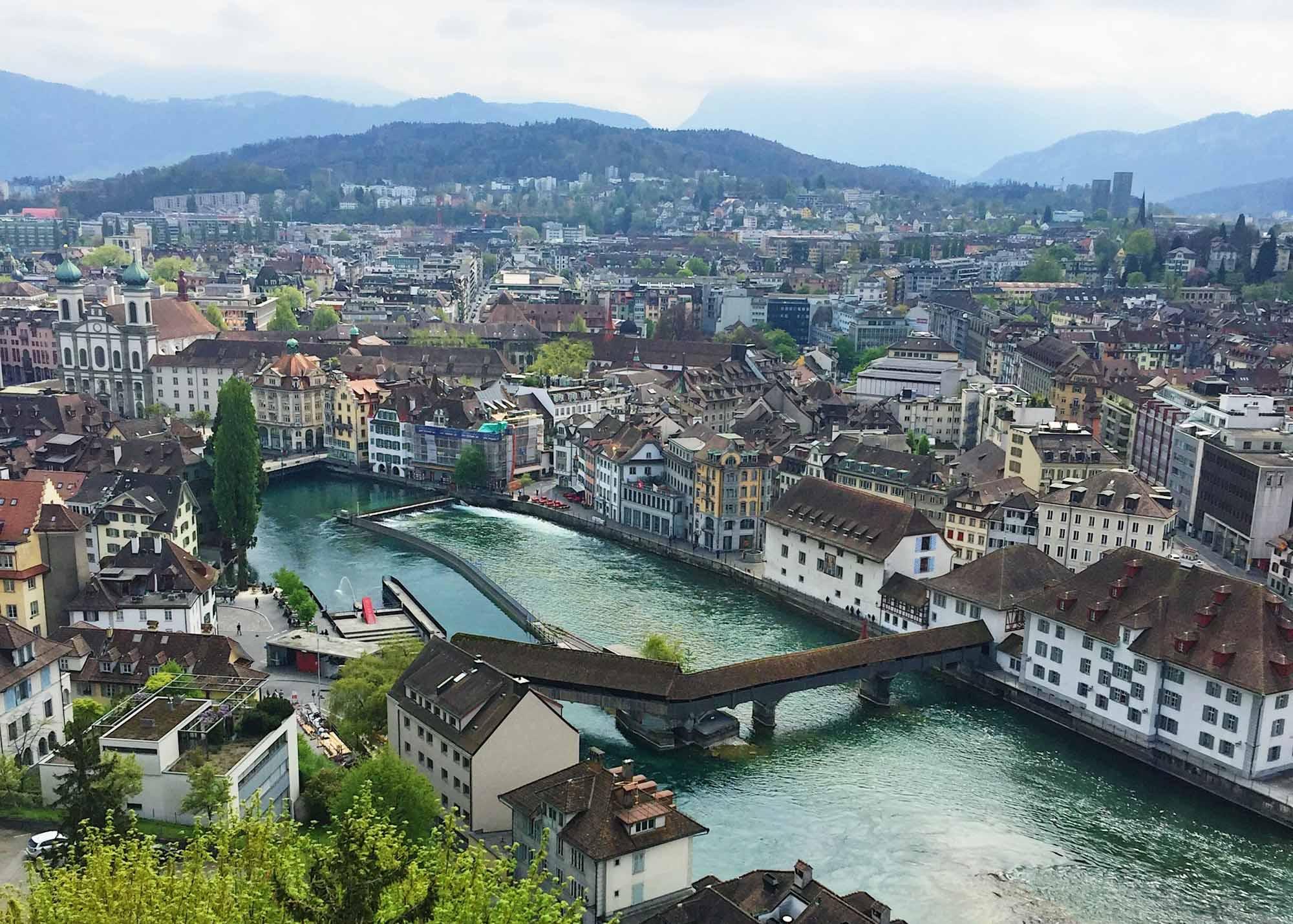 Europe Road Trip - Lucerne