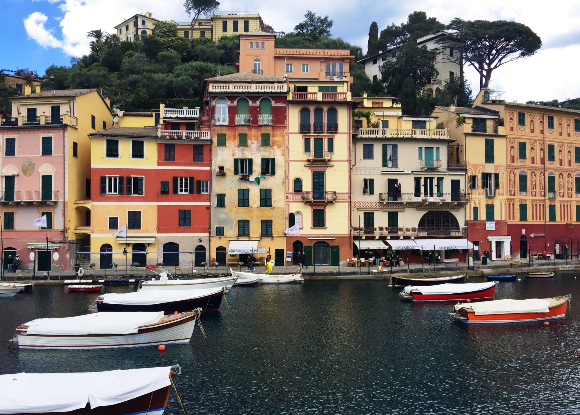 Colourful road trip in Europe: Portofino