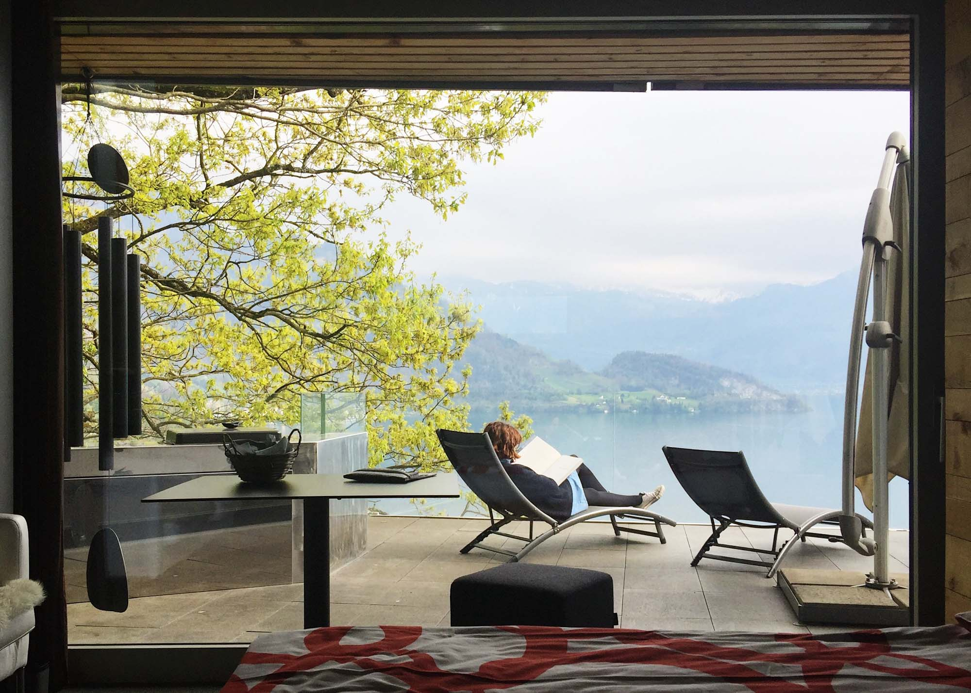 Europe Road Trip – Weggis AirBnB near Lucerne