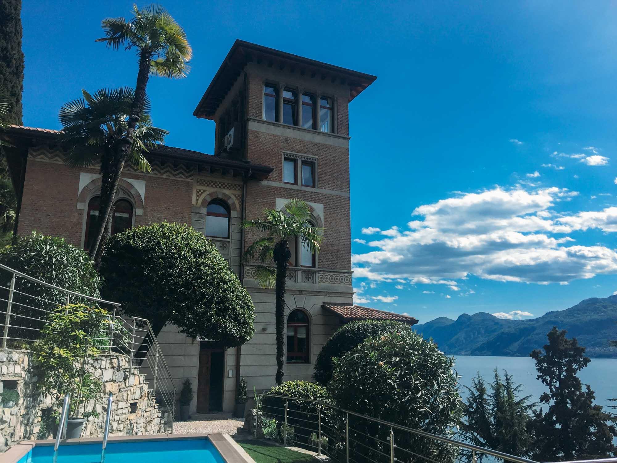 Europe Road Trip-Villa Monti, Varenna