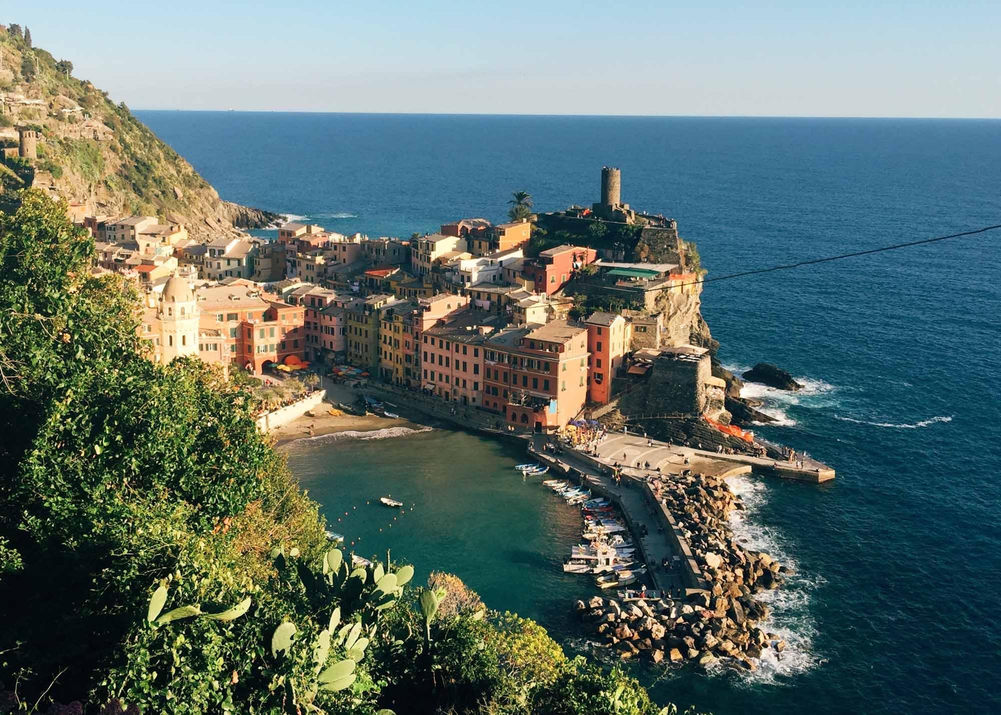Europe Road Trip - Cinque Terre, Varenna