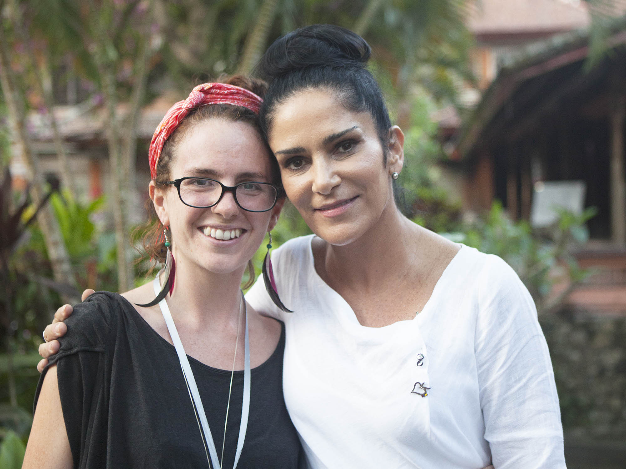 Me and Lydia Cacho