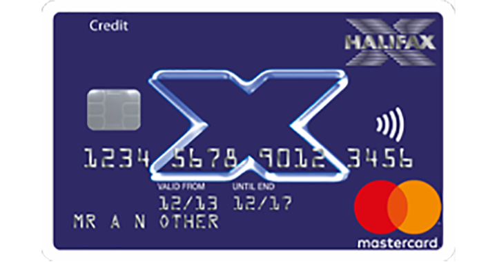 Halifax Clarity card