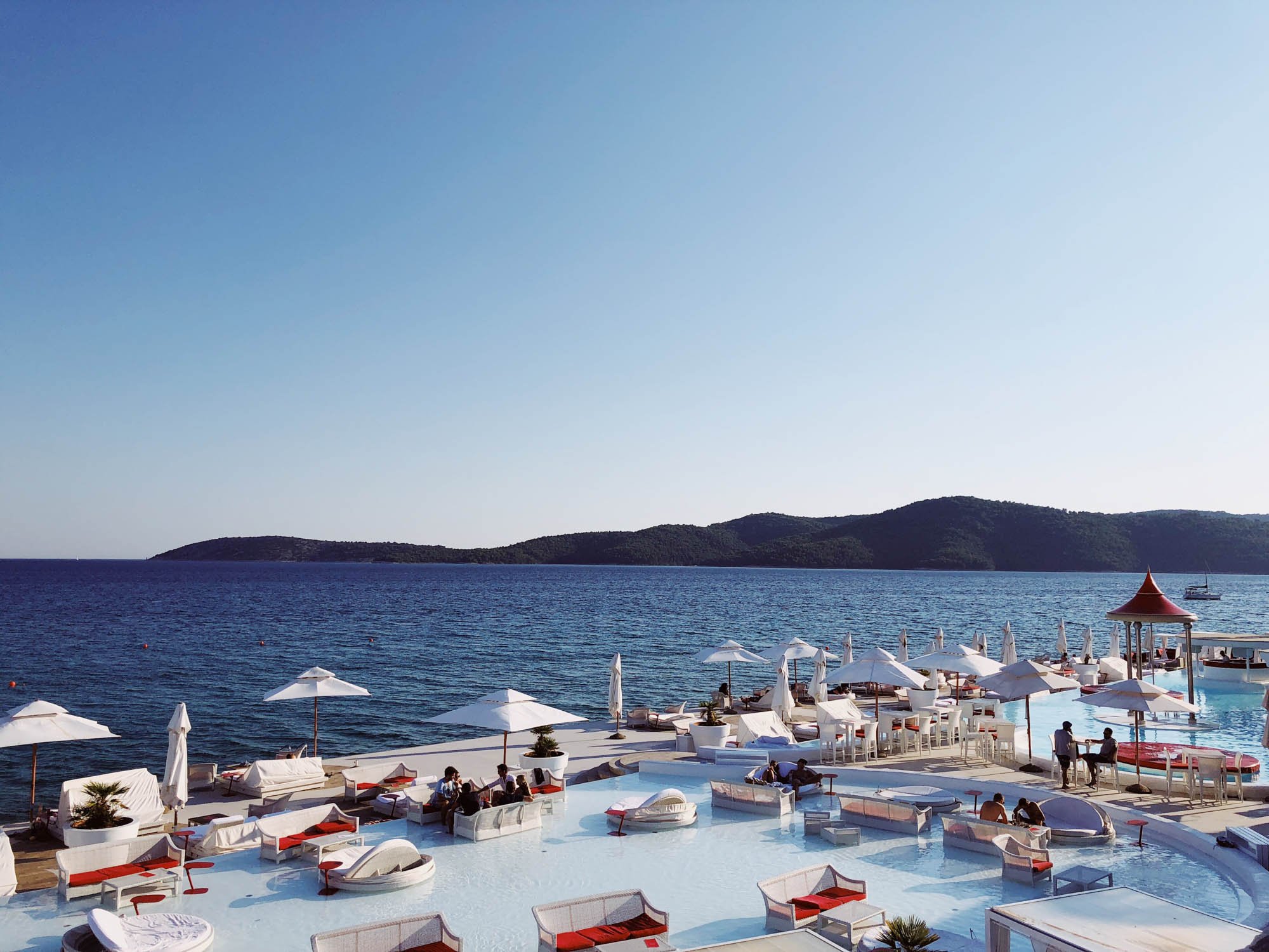 En Vogue Beach Club, Amadria Park, Sibenik, Croatia