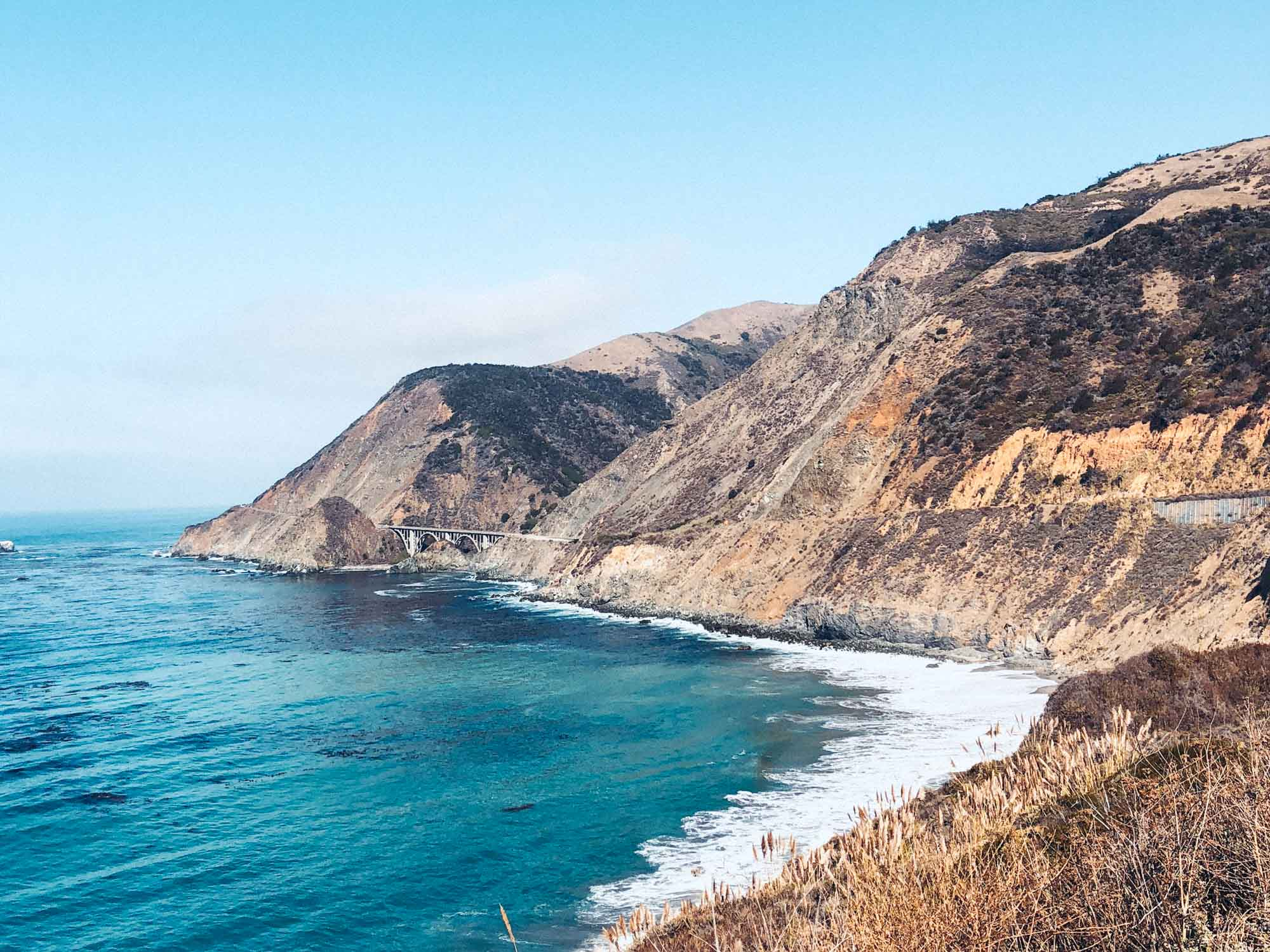 California Road Trip Itinerary - Big Sur