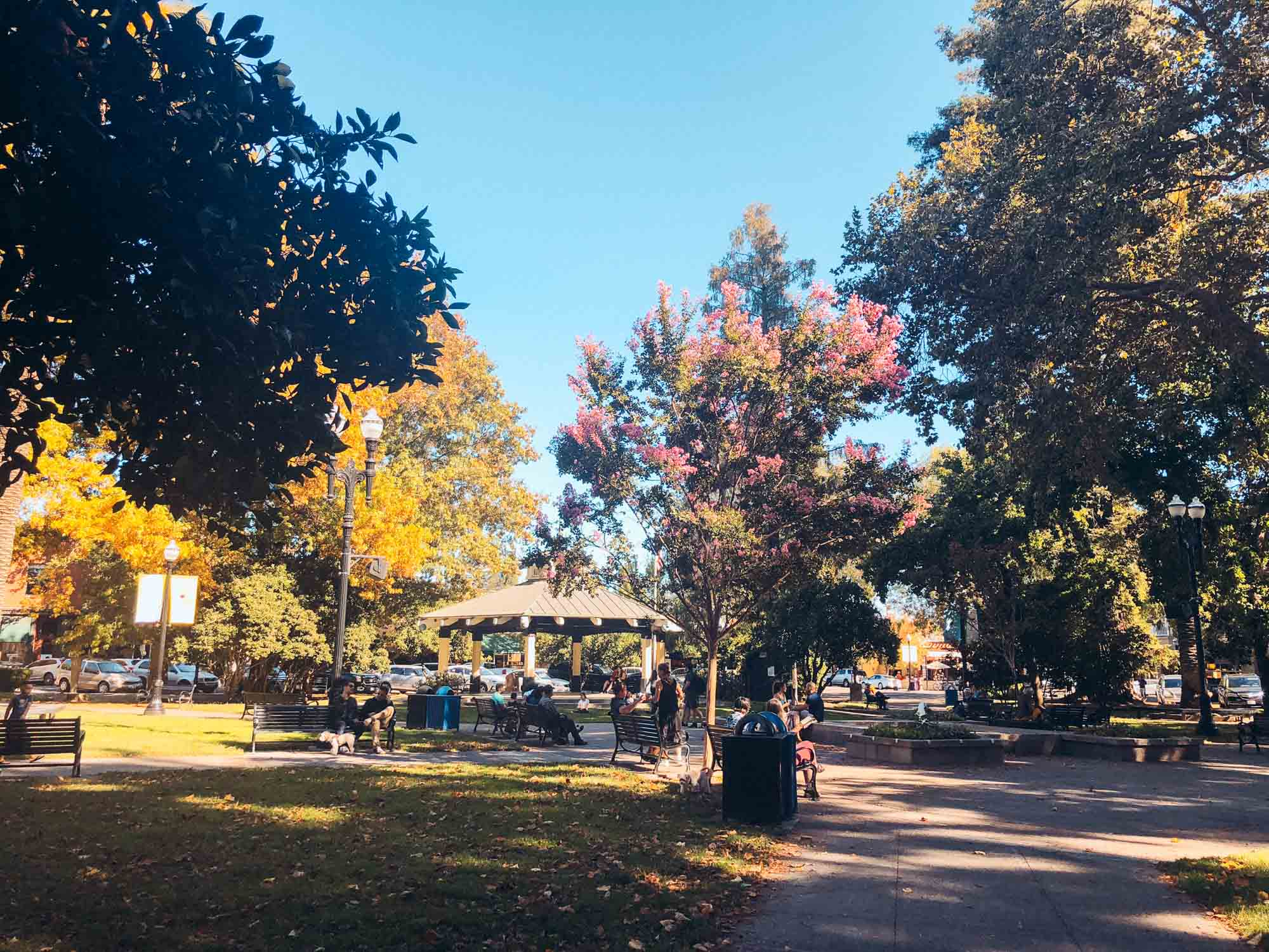 Healdsburg Plaza, Sonoma