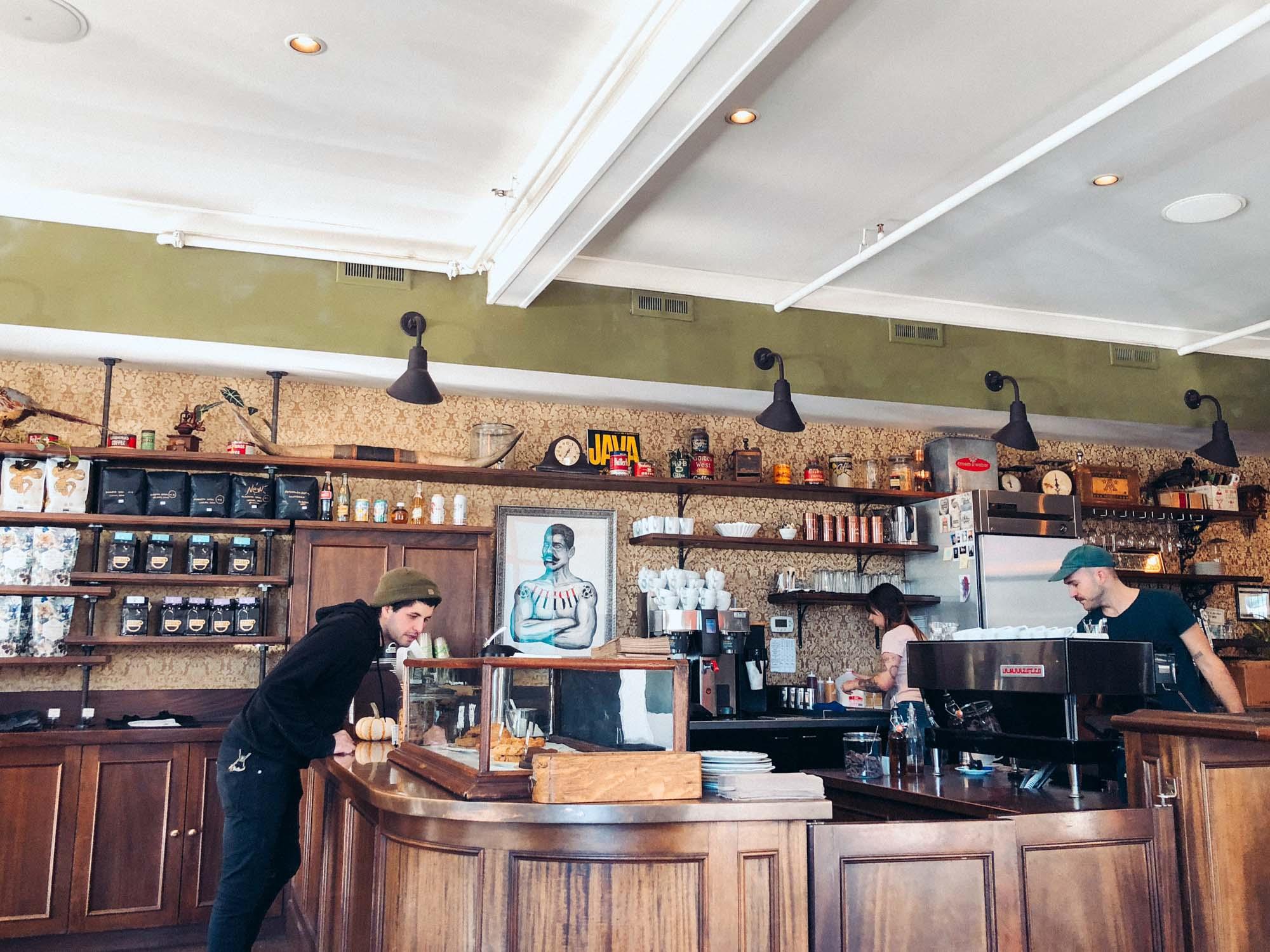Best vegetarian-friendly restaurants and cafes in Alberta Arts District - Barista