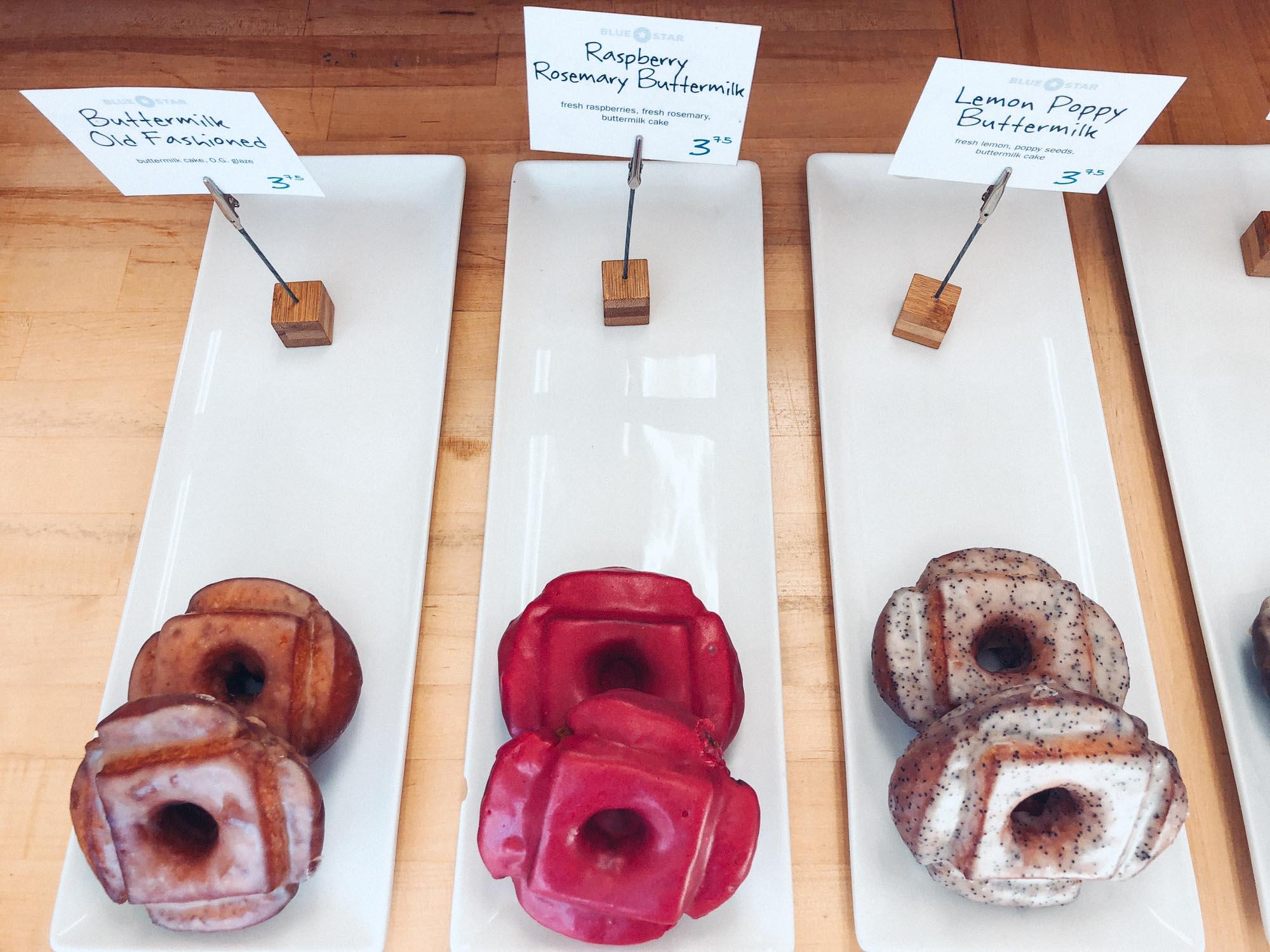 Best vegetarian restaurants in Portland - Blue Star Donuts