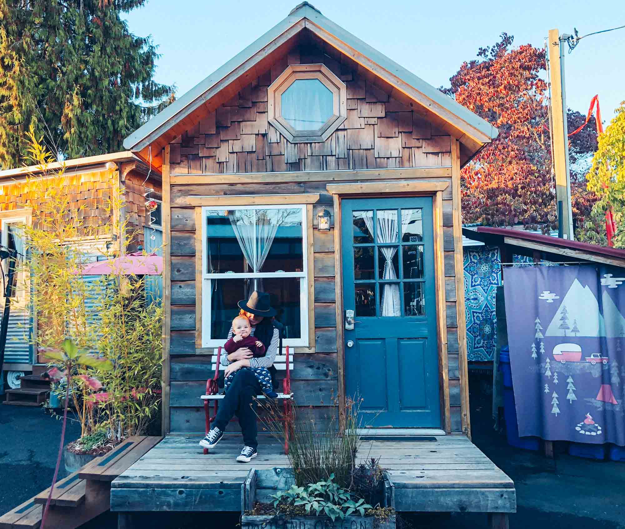 Where to stay in Portland: Caravan, the Tiny House Hotel