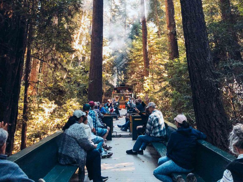 Things to do in Santa Cruz California: Roaring Camp Railroads