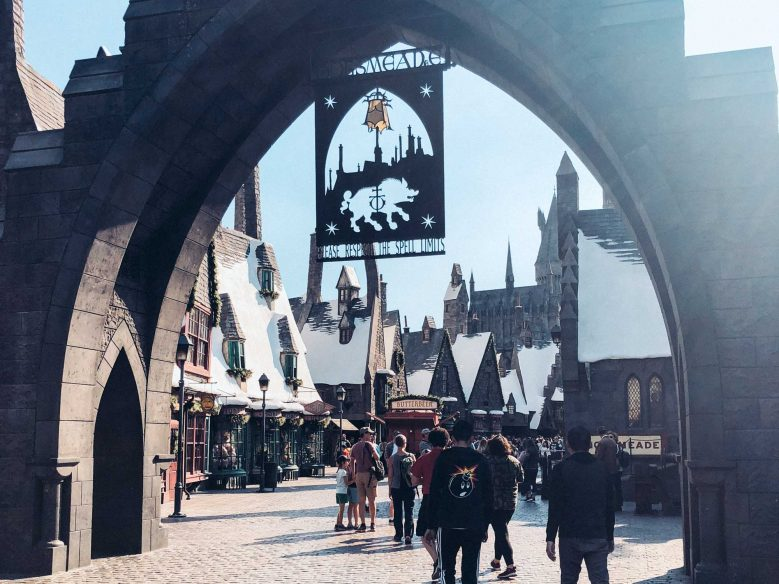 Universal Studios for toddlers - Wizarding World of Harry Potter