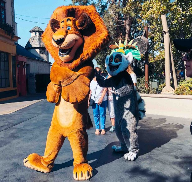 Universal for toddlers - Character meet and greets