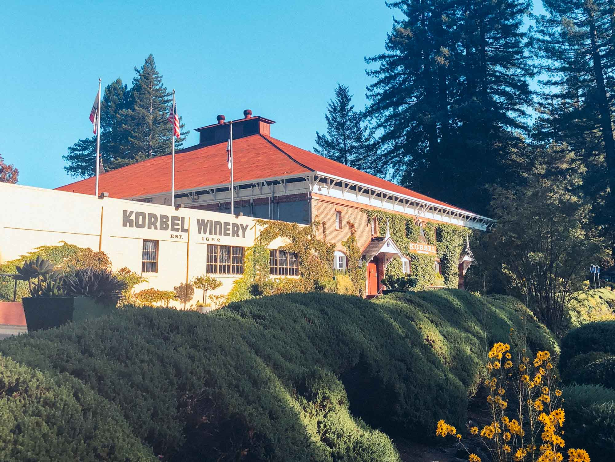 Korbel winery - Best things to do in Sonoma