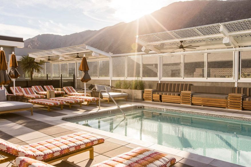 Best boutique hotels Palm Springs – Kimpton Rowan Palm Springs