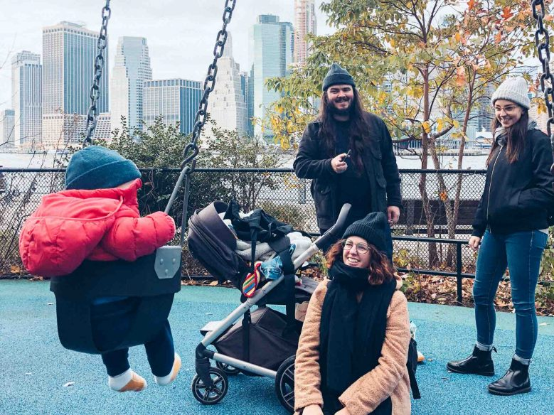 New York with a baby - Playground