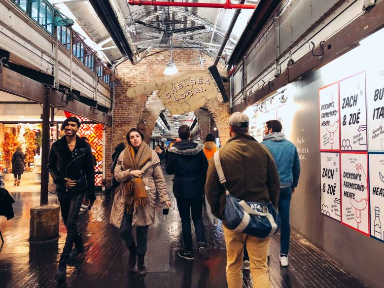 New York with a baby - Chelsea Market