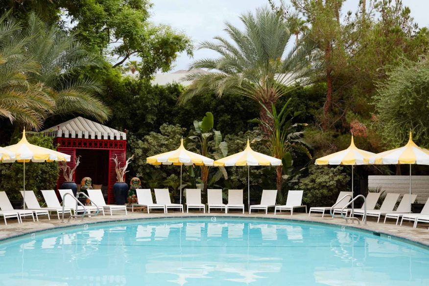 Most hip hotels Palm Springs – Parker Palm Springs