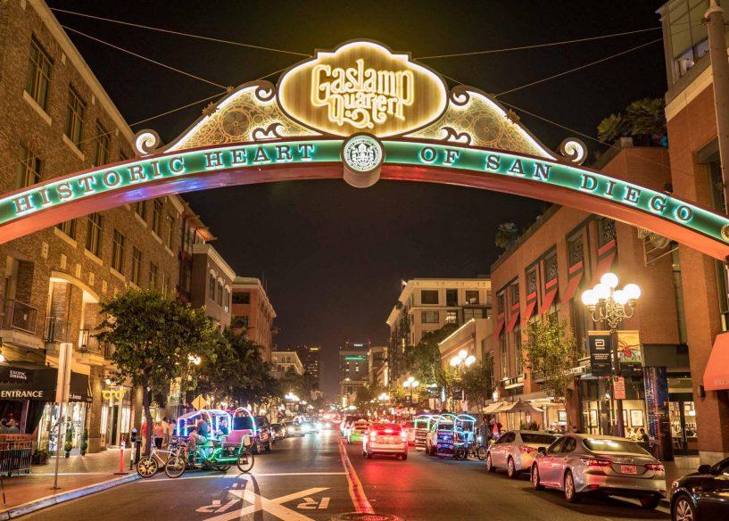 San Diego Itinerary - Gaslamp Quarter