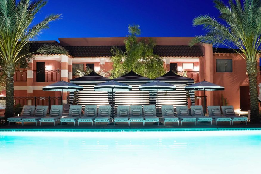 Hipster Hotels in Palm Springs - Sands Hotel and Spa