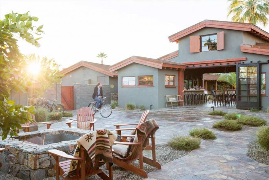 Best boutique hotels Palm Springs - Sparrows Lodge