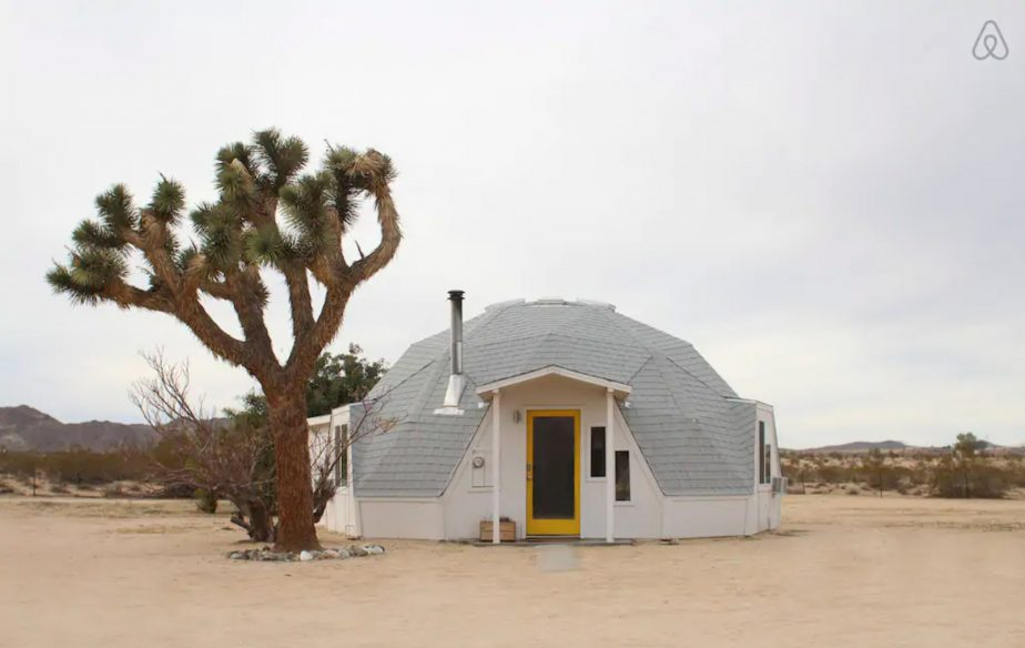 Best Joshua Tree Cabins: Dome in the Desert