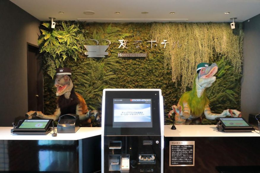 Bets hotels in Japan: Henn Na Hotel