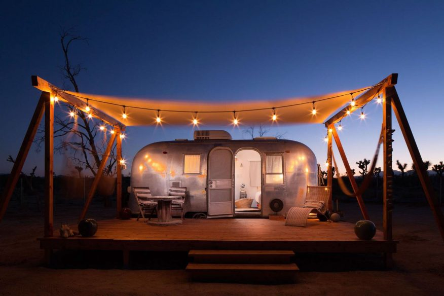 Joshua Tree Airstream: Joshua Tree Acres