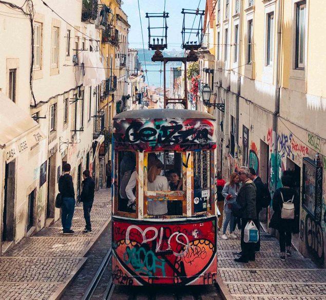 What to do in Lisbon: Rua de Bica funicular