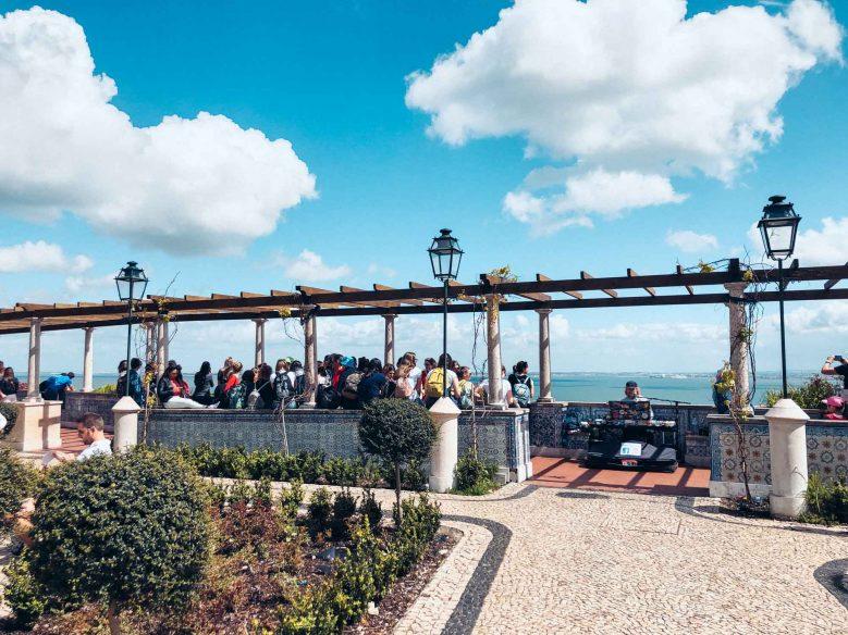 Road trip Portugal - Alfama miradouro
