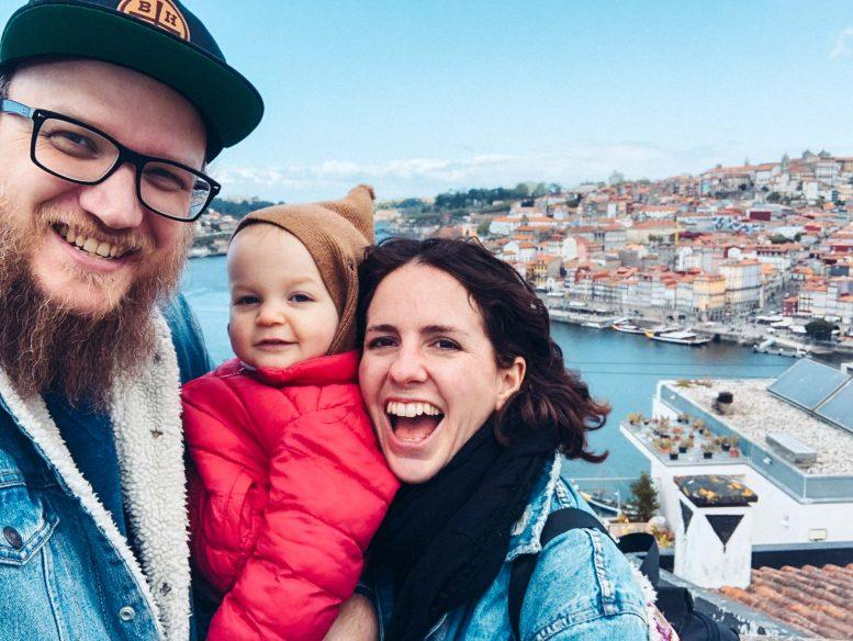 Portugal Road Trip - Family in Porto