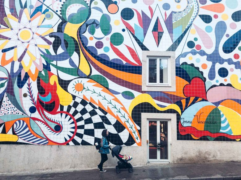 Porto - Steak and Shake mural