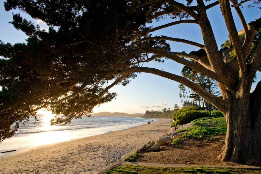Montecito: Butterfly Beach at Sunset
